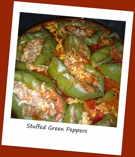 Stuffed Peppers in the Electric Pressure Cooker | Mitten State Sheep ...