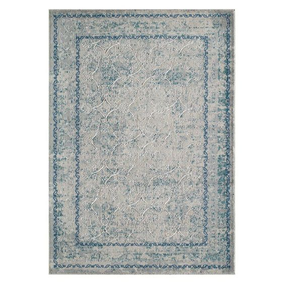 Momeni Luxe LX-14 Indoor Area Rug - LUXE0LX-14BLU7A9A