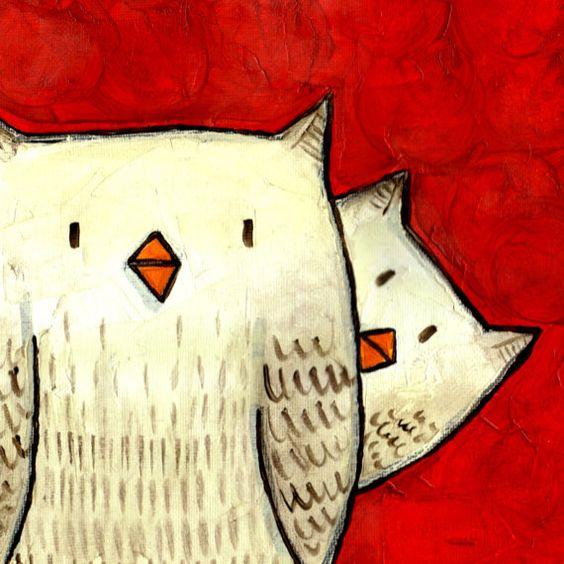 shy owls <3