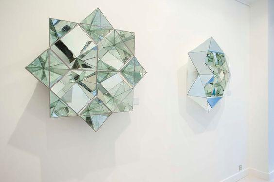 Big Reflective Diamonds Sculptures – Fubiz Media