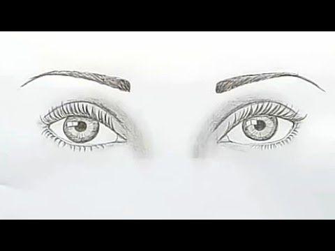 رسم العينين بطريقة سهله رسم سهل وجميل رسومات سهله وبسيطة تعليم الرسم للمبتدئين Youtube In 2021