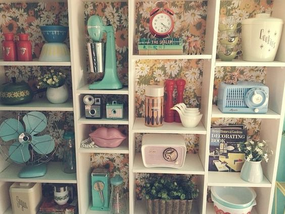 Shelves + Found Objects
