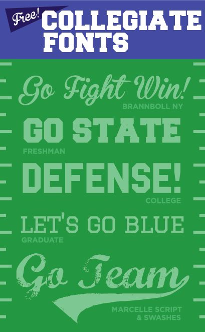 Best  Football Fonts Ideas On Pinterest Sports Fonts Collegiate Font And Free Sports Fonts