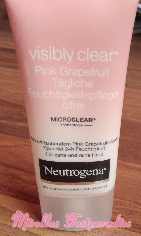 I like the Design of the new Creme from Neutrogena.