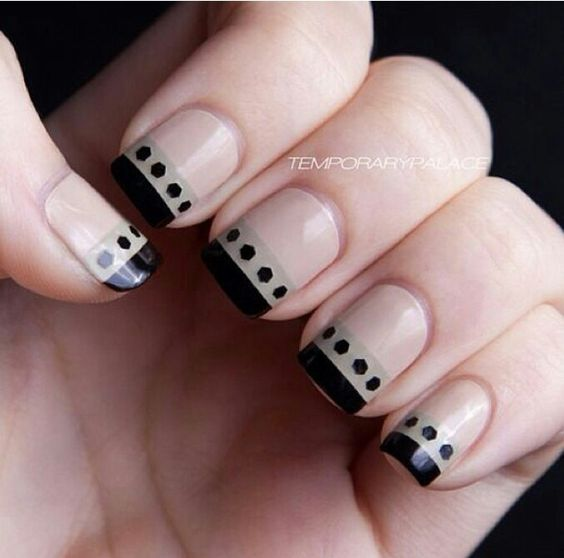 Fancy french tip
