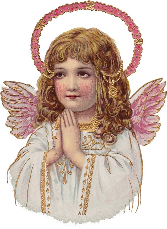 Wings of Whimsy: Sweet Pink Girl Cherub