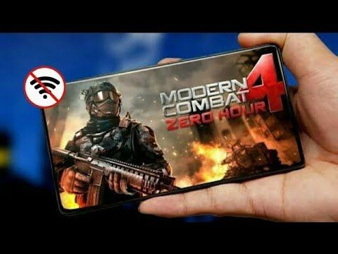 Modern Combat 4 Zero Hour Latest Mod Apk Obb Full Offline On Any Android Devices Youtube In 2020 Combat Offline Video Game Covers
