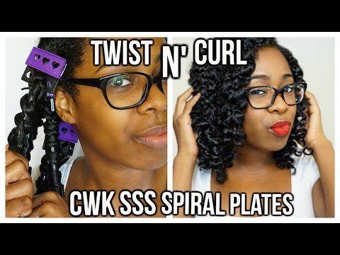 CWK SSS Spiral Plates | Twist N' Curl - YouTube