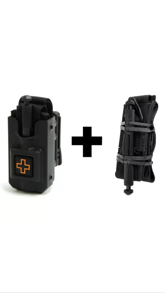 Quality tourniquet and holder for your duty belt. I got one of these and I love it! It allows me to carry tourniquet on duty.