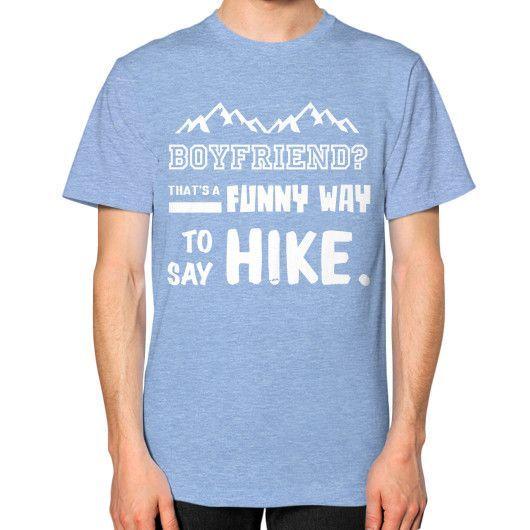 BOYFRIEND Unisex T-Shirt (on man)