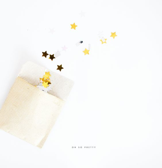 DIY | New Years Eve Confetti Packs | Oh So Pretty #NewYearsEve