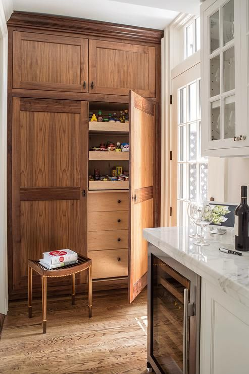 Pinterest the world s catalog of ideas for Oak kitchen larder units