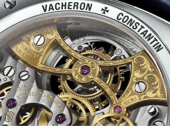 Vacheron Constantin Harmony Tourbillon Chronograph caseback details - Perpetuelle