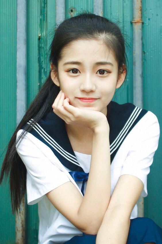 清純美少女,美的無話可說》水手服制服美少女》Cute Girl Pretty Girls 漂亮、可愛》