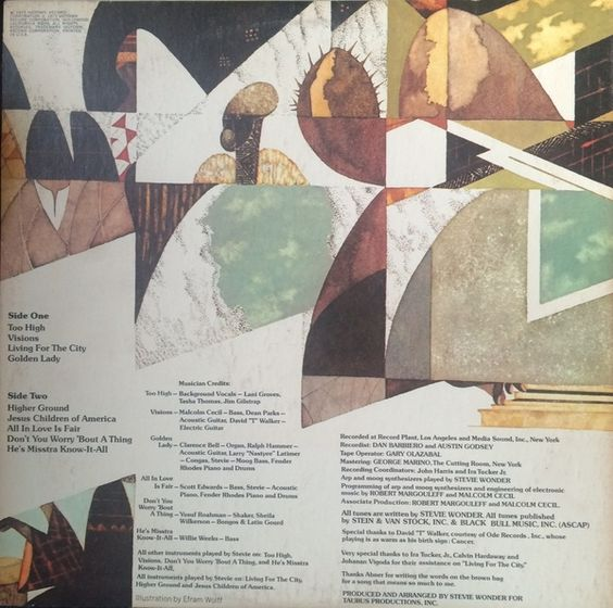 Stevie Wonder - Innervisions (Vinyl, LP, Album) at Discogs