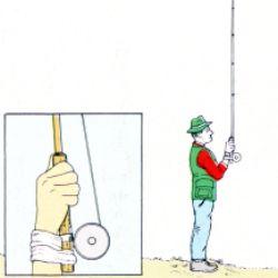 Werfen mit der Fliegenrute.  Der Überkopfwurf mit der Fliegenrute, hier lernen Sie die Grundzüge für den richtigen Wurfstil  Beim Werfen mit der Fliegenrute ist Muskelkraft nicht ausschlaggebend für den Erfolg, sondern Geschick.   http://www.angelstunde.de/werfen-mit-der-fliegenrute/