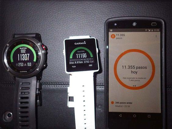 Garmin Vivoactive - Comparativa de monitores de actividad