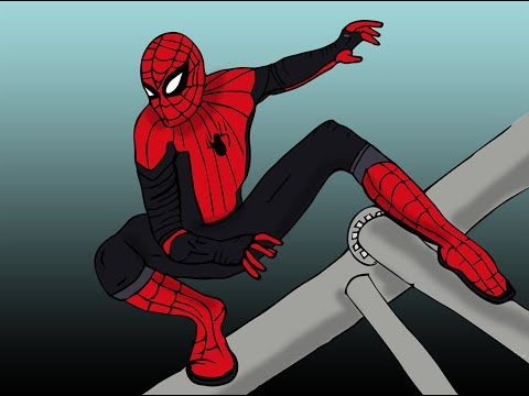 How To Draw Spider Man In Simple Steps كيف نرسم سبايدر مان Youtube Spiderman Drawing Spiderman Cool Drawings