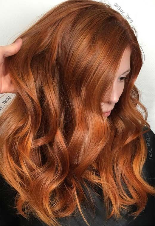 31 Copper Brunette Hair Color Ideas For This Spring 2019 With