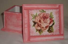 Resultado de imagem para caixas decoradas de mdf