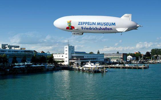 Zeppelin Museum Friedrichshafen   Erwachsene€ 8,00, Kinder von 6 - 16 Jahren€ 3,00