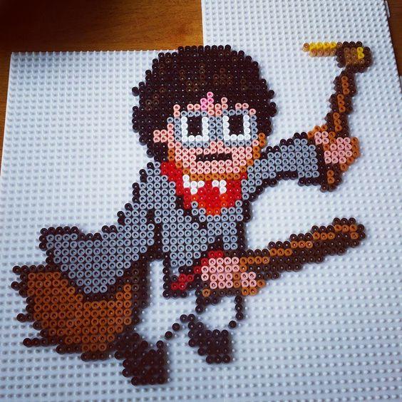 Harry Potter hama beads by monalvmonalv
