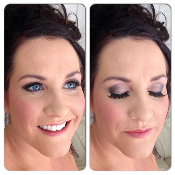 Glamorous Bridal Makeup Looks : Bridal makeup looks, Bridal makeup and Mac satin taupe on ...