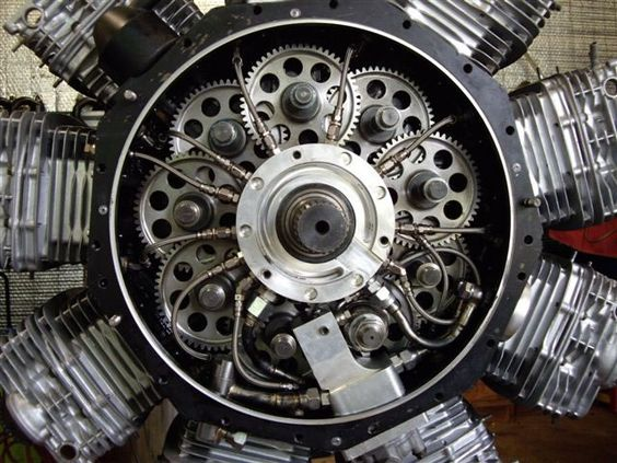 Sutton 9 Cylinder Radial Man Look At All The Camshafts