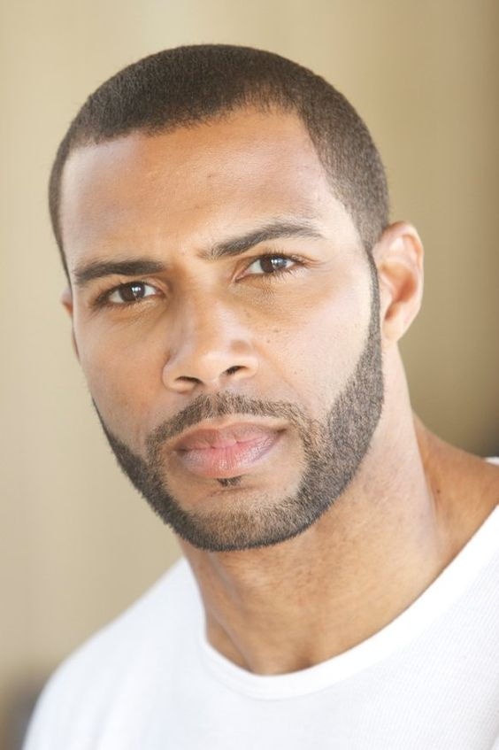 Omari Hardwick - one of my favorite looks on a guy! low cut (or shaved head) and full face-facial hair