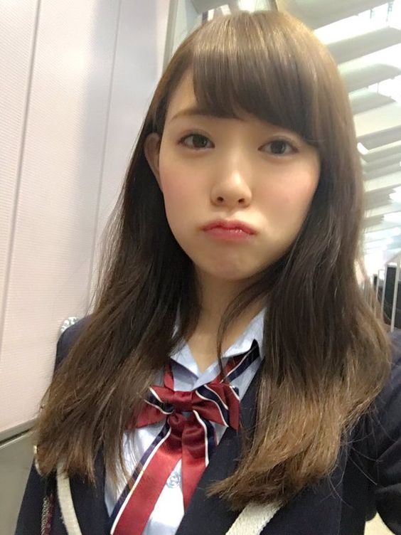 渡辺美優紀の自撮りショット