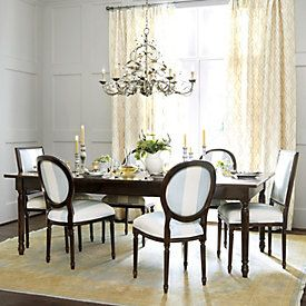 Louis XVI Extension Dining Table