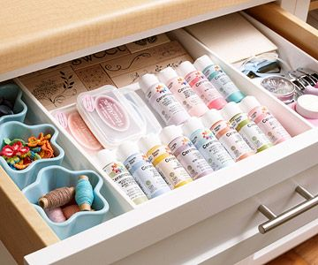 Drawer Dividers for craft supplies