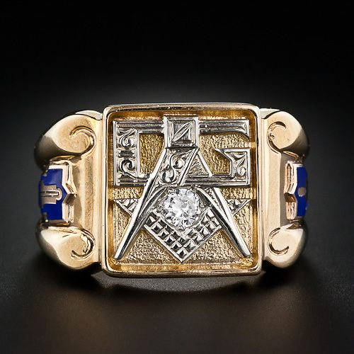 Masons Secret Society  Carat Gold Rings