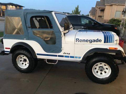 1980 Jeep Wrangler Renegade For Sale Jeep Wrangler Renegade Jeep Cj Jeep Wrangler