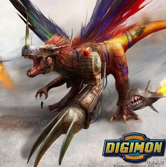 Digimons Reais!  MetalGreymon
