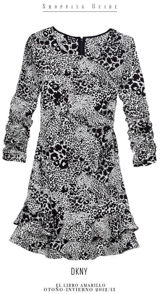 Mujer - Vestido - DKNY - El Palacio de Hierro - El Libro Amarillo Otoño Invierno 12/13