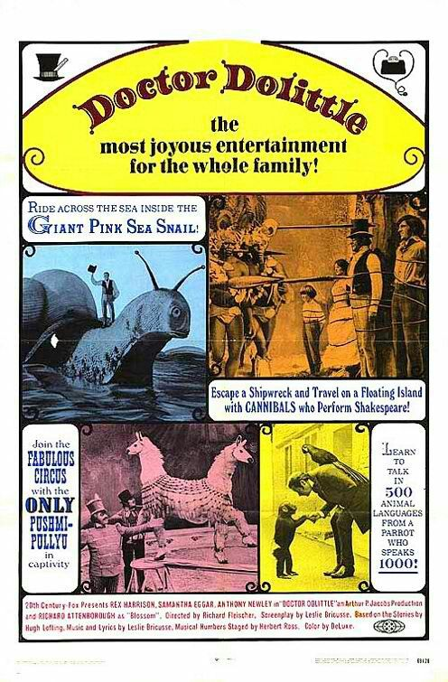 "BEST FILM EDITING NOMINEE: Samuel E. Beetley and Marjorie Fowler for ""Doctor Dolittle""."