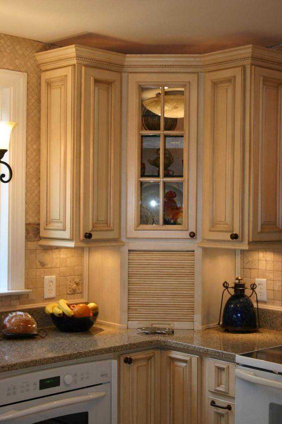 17 Best images about Kitchen Craft Cabinets   Corner kitchen ...