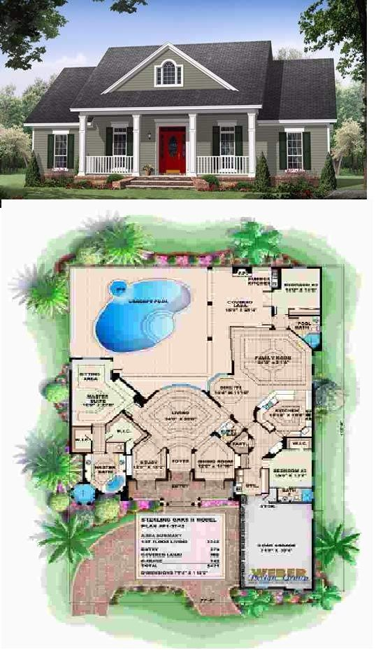 The Country Style House Plans Country Style House Plans House Plans House