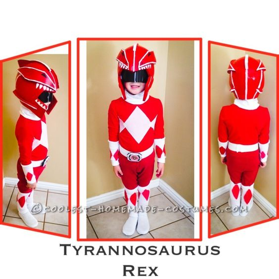 Coolest Ever Homemade Power Rangers Costumes...