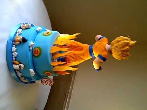 dragon ball z birthday cake aniversário bola dragon ball partido tema ...