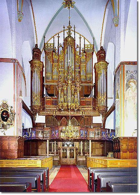 St. Jakobi, Luebeck, Germany - IV Manuale / 62 Register