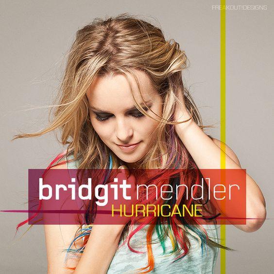 Bridgit Mendler – Hurricane (single cover art)
