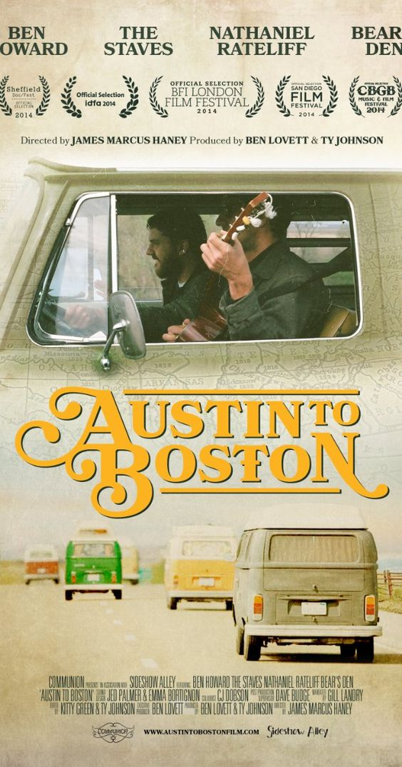 Austin to Boston (2014) ... The most beautiful music documentary I've ever seen