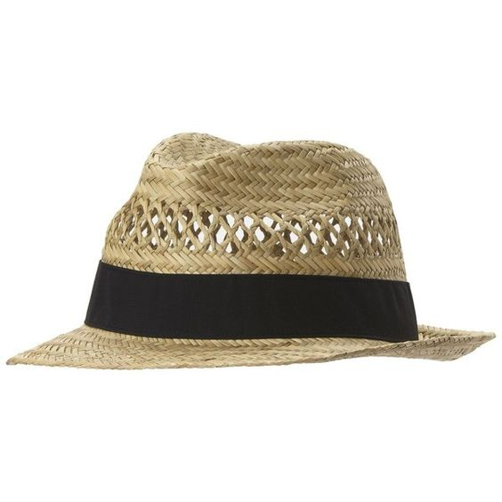 Columbia Sun Drifter Straw Hat ($25) ❤ liked on Polyvore featuring accessories, hats, columbia hat, crown hat, fedora hat, columbia and straw fedora