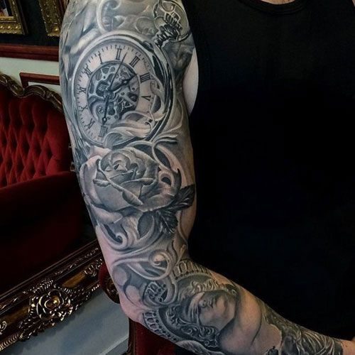 101 Best Shoulder Tattoos For Men Cool Designs Ideas 2019 Guide In 2020 Cool Shoulder Tattoos Mens Shoulder Tattoo Watch Tattoos