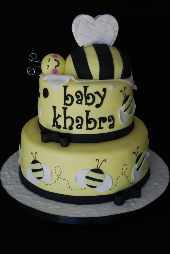 shower cakes ideas little cakes shower ideas showers cute bee bee baby