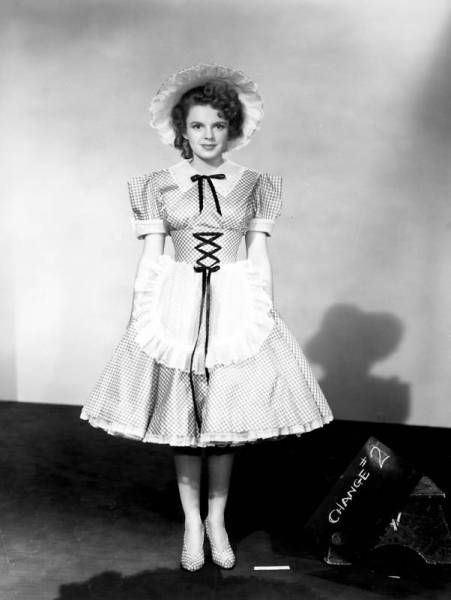 "Judy Garland wardrobe tests for ""Little Nellie Kelly"" (1940)"