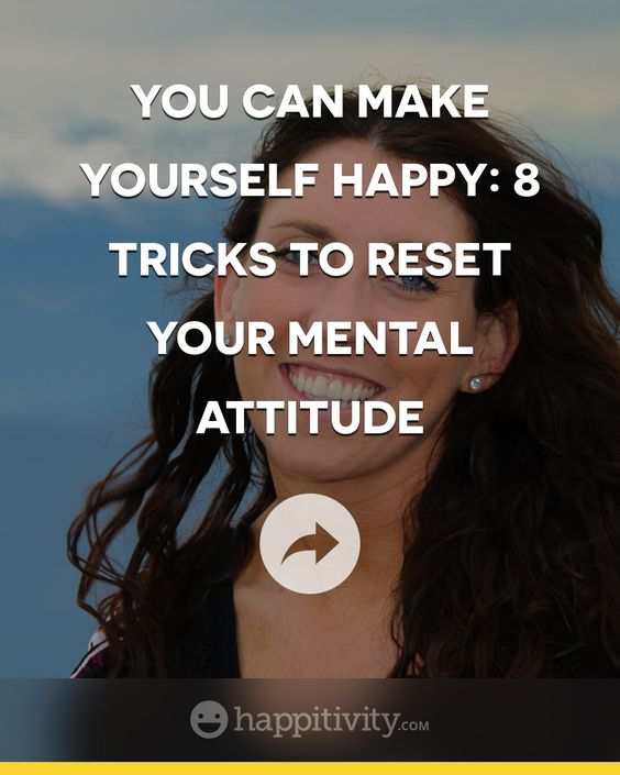 Happiness is an emotion. A simple statement, but one that people sometimes forget. You can pursue happiness without catching the feeling. Let's look at some ways to feel the emotion. Read more here http://happitivity.com/2014/02/17/can-make-happy-8-tricks-reset-mental-attitude/