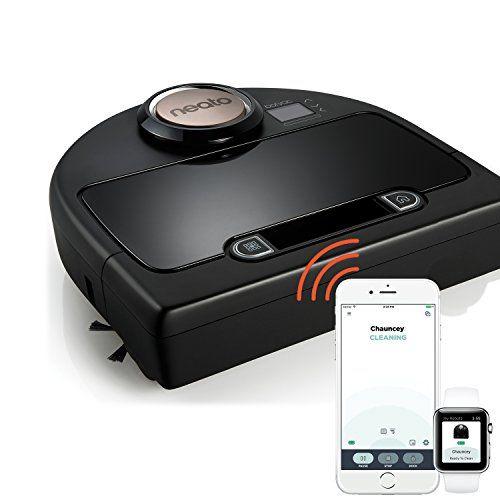 Neato Botvac Connecte Dc02 Wifi Aspirateur Robot Intelligent Avec App Systeme De Navigation Laser Aspirateur Haute Performa Aspirapolvere Wi Fi Mappatura